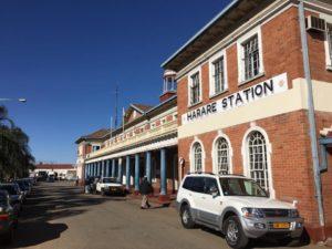 Nadrazi v Harare - Zimbabwe